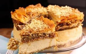 Greek Baklava Cheesecake Recipe