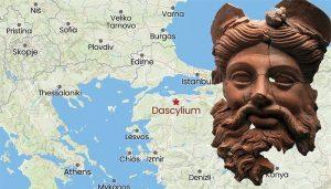 Amazing 2400-Year-Old Mask of Greek God Dionysus Found in Turkey