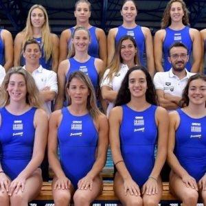 Greece Women's Water Polo Advance to Semi Final Tokyo Olympics Qualifier