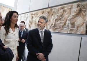 The Parthenon Marbles Got George and Amal Clooney to Fall in Love
