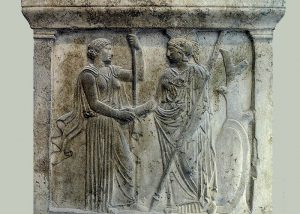 The Ancient Greek History of the Handshake from 5th Century B.C.