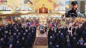 Hundreds Pay Farewell to Fallen Officer Anastasios Tsakos at Funeral