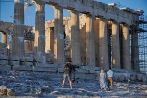 A Record 18 Hollywood Movies to be Filmed in Greece in 2021